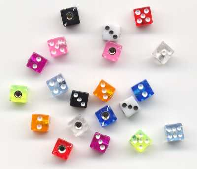 threaded dice